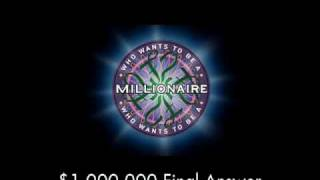$1,000,000 Final Answer - Who Wants to Be a Millionaire?