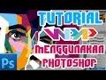 Tutorial dasar WPAP dengan Photoshop dengan suara file latihan by Thorofi