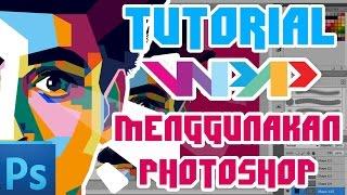 Tutorial dasar WPAP dengan Photoshop (dengan suara + file latihan) by Thorofi