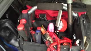 Forklift Field Service Van Setup