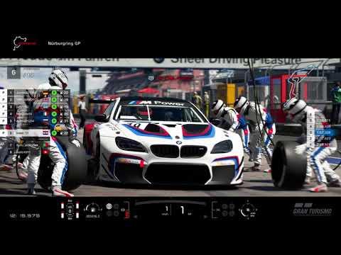 GT Sport manufacturer cup - M6 on nurburgring gp