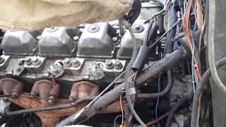 Урал 4320 часть 8 . Снятиге ГБЦ с двигателя камаз 740 .