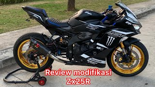 REVIEW MODIFIKASI ZX25R FULL MODIF HEDON