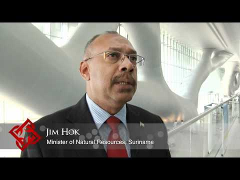 Executive Focus: Jim Hok, Minister of Natural Resources, Suriname
