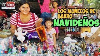 Mira la Reacción de la Señora que vende Muñecos de Barro en el Transito San Miguel