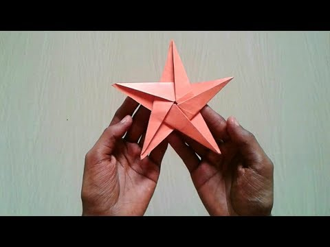 How to make simple & easy paper Star | DIY Paper star origami || SUNIL CREATION