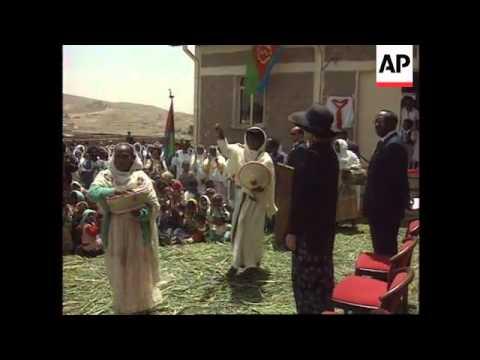 Eritrea - Hillary Clinton concludes African tour