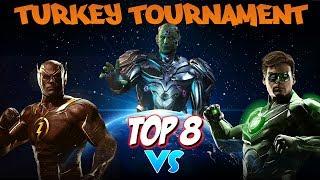 Gambar cover Top 8: TSS KingGambler (Green Lantern) vs Zoom (Flash) | Injustice 2 Turkey Tournament