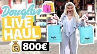 8OO€ DOUGLAS LIVE HAUL 🛍😱  IHR BESTIMMT & GEWINNT!! | COCO