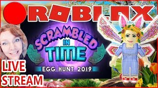 Not really?# 1🔴 ROBLOX Egg Hunt 2019 Scrambled in Time 🔴 Mrs. Samantha Lets Snoop!