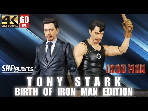 REVIEW : S.H.Figuarts Tony Stark Birth Of Iron Man Edition   SHF   Unboxing   Marvel