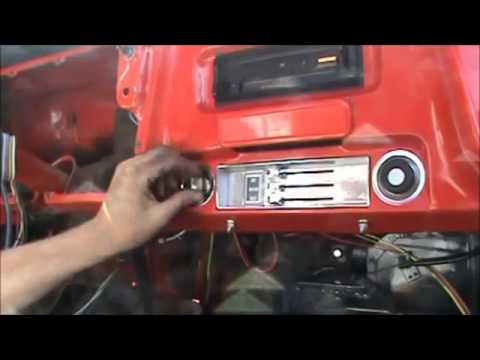 How to Install a Wiring Harness- 67-72 Chevy C10 Truck- Part 2 - YouTube