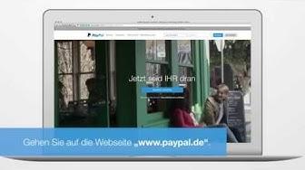 PayPal-Geschäftskonto: API-Signatur anfordern