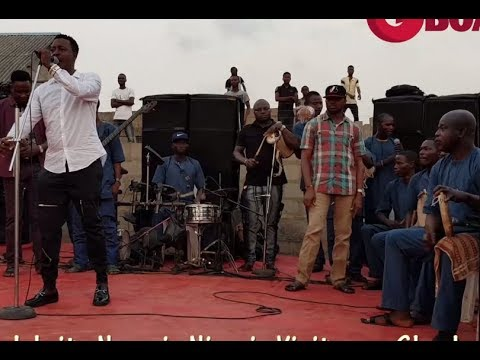 Download Taye Currency Entertains Guest With Songs At The Opening Of Muka Ray's N320Million Hotel In Lagos