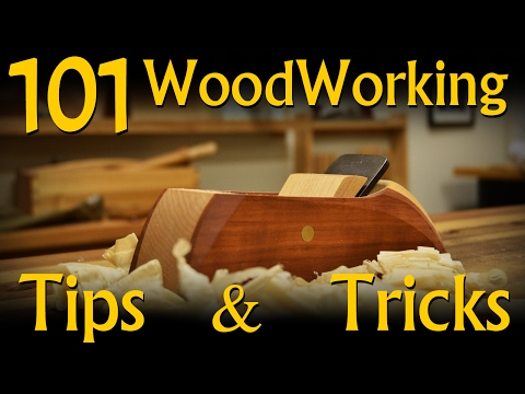 101 Woodworking Tips & Tricks