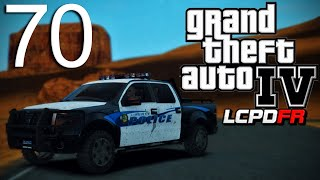 GTA 4 LCPDFR v1.0 - Episode 70 - Red Dead Desert Patrol!