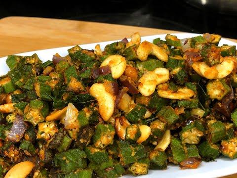 instant pot air fryer recipes vegetarian | Crispy Bhindi fry Recipe in Airfryer | air fryer recipes