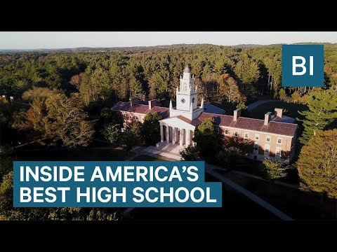 Phillips Academy in Andover is the best high school in Ameri