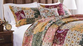 Greenland Home Antique Chic 5-piece Oversized Cotton Quilt Set