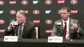 Chip Kelly's San Francisco 49ers introductory press conference