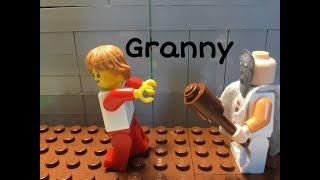 Лего гренни анимация, lego granny stop-motion.Лего анимация бабка гренни.Бабуля гренни.Гренни в майн