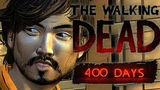 The Walking Dead Season 1 400 Days Reaction - BLIND Playthrough (Let's Play Walkthrough Gameplay)