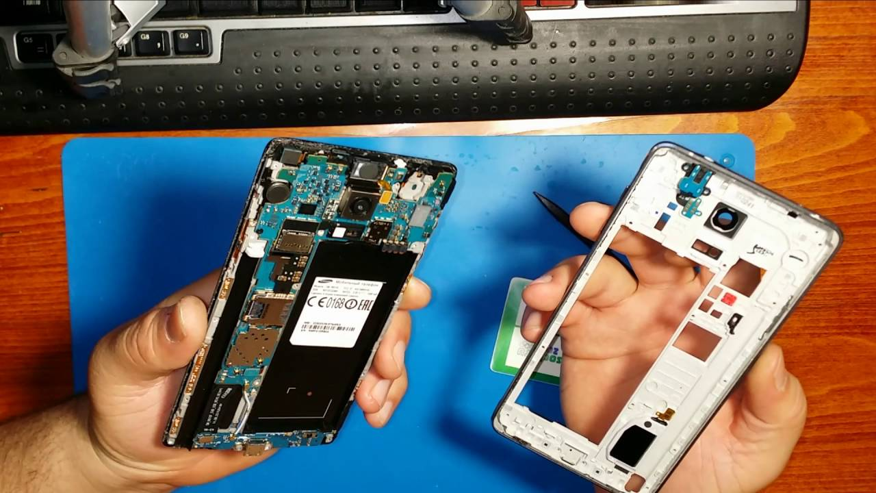 Ремонт Samsung Galaxy Note 4 / Самсунг Галакси Note 4 в СПб