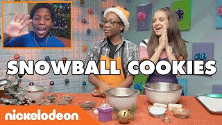 Snowball Cookies W/ Noah | Nick