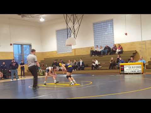 Cole Willey middle school wrestling 2018 against vs chipman