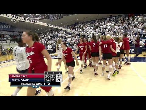 Nebraska at Penn State - Volleyball Highlights
