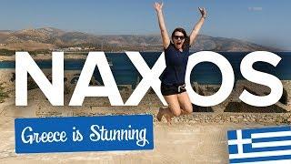Naxos. Amazing Greek Island + NUDE Beach, Dunes & Graffiti at an Abandoned Hotel
