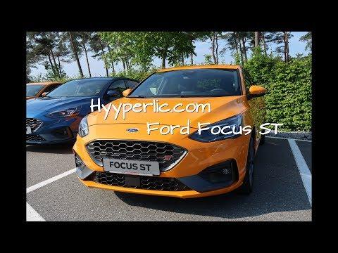 Ford Focus ST 2019 Walkaround - Fury Orange - Autoblog Hyyperlic.com