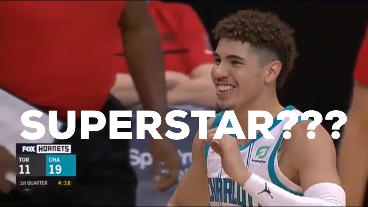 LaMelo Ball nearly makes NBA history, outplays brother Lonzo as ...