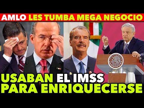 AMLO DESMANTELA NEGOCIO MILLONARIO DE FOX Y CALDERON Y PEÑA