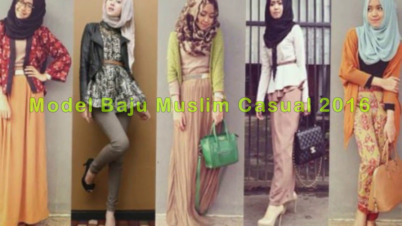 Model Baju Islami Casual 28
