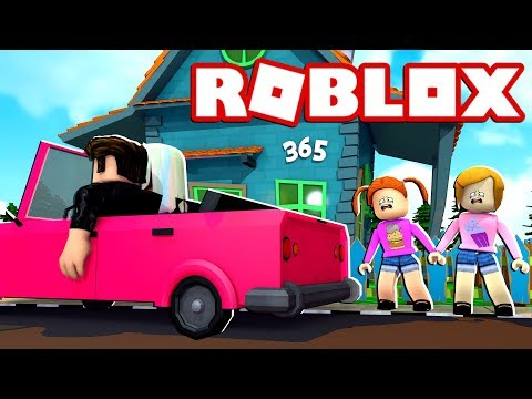 Roblox Bloxburg   We Forgot The Kids At Home When We Went On Vacation!