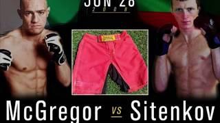 Ufc 229 Conor McGregor vs Artemij Sitenkov Конор Макгрегор