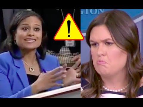 Things Get Heated Between Sarah Sanders and Reporter Kristen Welker!