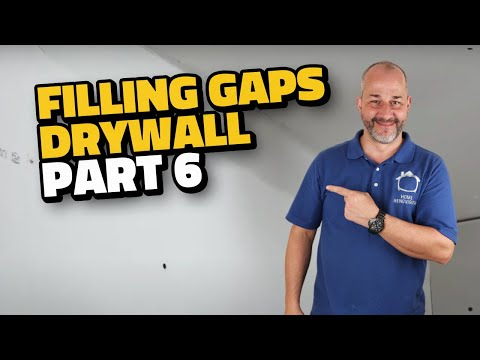 Complete Drywall Installation Guide Part 6 Filling Gaps