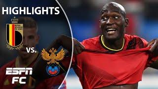 Romelu Lukaku scores and pays tribute to Christian Eriksen in Belgium's win | Highlights | ESPN FC