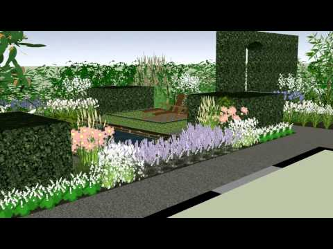 3d tuinontwerp door creactiva tuinontwerp 2 youtube for Tuinontwerp door studenten