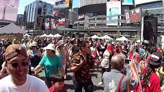 Download lagu Flash Mob Maumere Dance Storms the Busiest Public Space in Canada