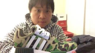 real vs fake bape NMD by true sneakerhead