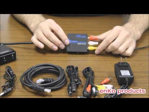 HDMI to AV Converter Instructions