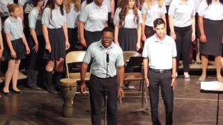 Blue Lake 2015 Session 1 SATB Choir Lord Give Me Just A Little More Time