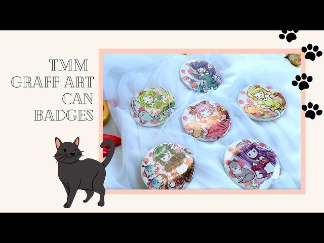Tokyo Mew Mew Graff Art Can Badge Opening