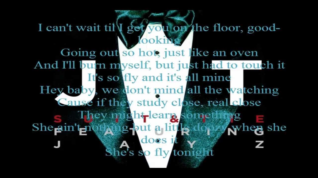 Justin Timberlake-Suit and Tie Lyrics Video - YouTube Justin Timberlake Suit And Tie Lyrics