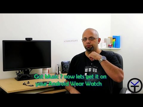 how to turn your moto 360 into an mp3 player