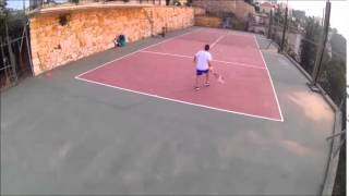 Tennis Game in Ghosta