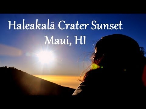 Hawaii Adventures 2 -- Tour of Haleakalā Crater & Jayce